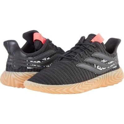 アディダス adidas Originals メンズ スニーカー シューズ・靴 Sobakov Core Black/Core Black/Flash Red