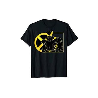 Marvel X-Men Wolverine Line Art Portrait T-Shirt