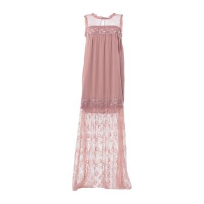 LA KORE ロングワンピース&ドレス ライトブラウン 0 ナイロン 100% ロングワンピース&ドレス