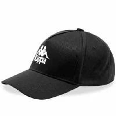 Kappa メンズ帽子 Kappa Authentic Vigoleno Cap Black & White
