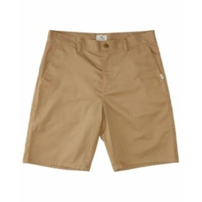 クイックシルバー メンズ ハーフパンツ・ショーツ ボトムス Men's Crest Chino Shorts Plage