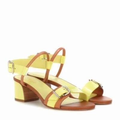 トッズ サンダル・ミュール Patent leather sandals Nude