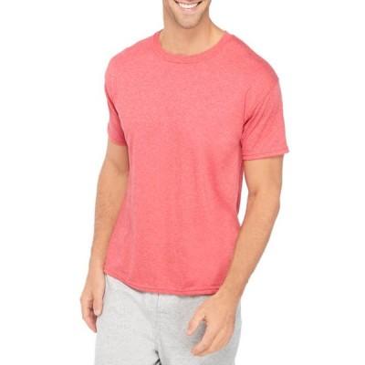 ヘインズ メンズ Tシャツ トップス Short Sleeve Crew Neck T-Shirt