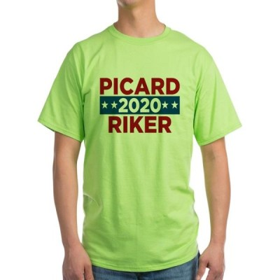 ユニセックス 衣類 トップス CafePress - Star Trek Picard Riker 2020 - Light T-Shirt - CP Tシャツ