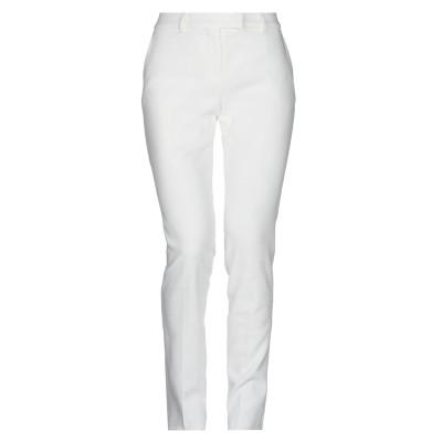 マックスマーラ MAX MARA パンツ ホワイト 44 コットン 61% / レーヨン 36% / ポリウレタン 3% パンツ