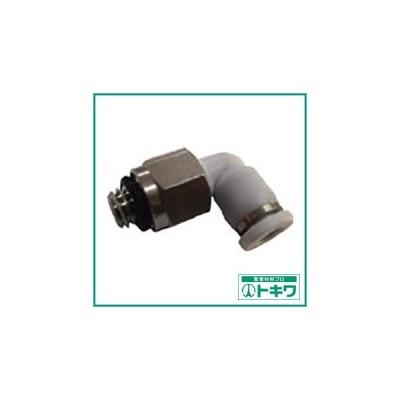 CONVUM メイルエルボ 適合チューブ外径6mm 接続口径R1/8  WPL06-01C ( WPL0601C )