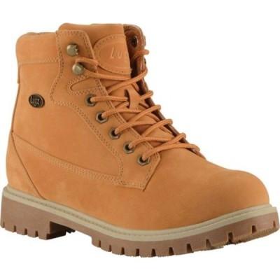 ラグズ ブーツ&レインブーツ シューズ メンズ Mantle Hi Chukka Boot (Men's) Golden Wheat/Cream Synthetic Leather