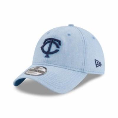 New Era ニュー エラ スポーツ用品  New Era Minnesota Twins Light Blue 2018 Fathers Day 9TWENTY Adjustable Hat