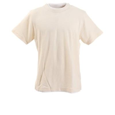 Tシャツ メンズ フェイクレイヤード 半袖 871PA0BGI3114WHT