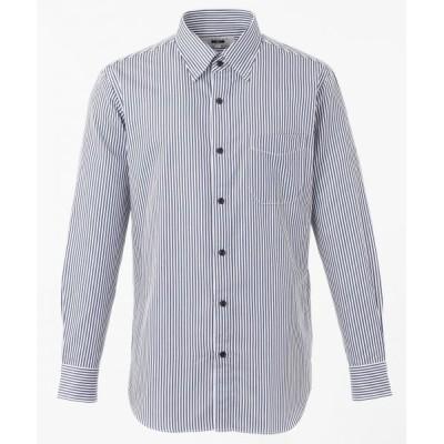 JOSEPH ABBOUD/ジョセフ アブード ロンストバックサテン シャツ ブルー系1 L