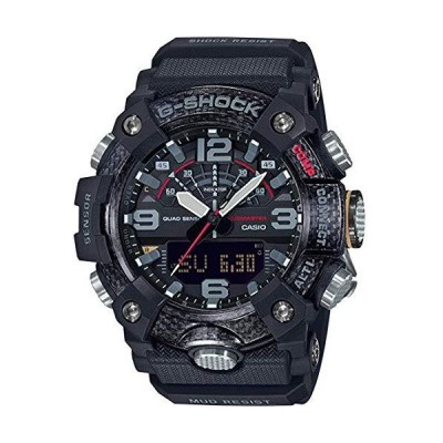 Casio Tactical G-Shock Mudmaster ANI-Digi Watch, Black, GGB100-1A