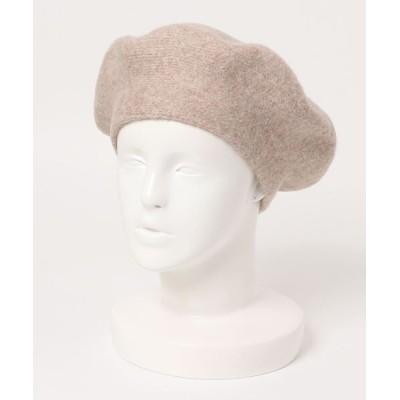 OFUON / ニットベレー帽 WOMEN 帽子 > ニットキャップ/ビーニー