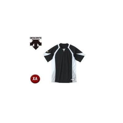 DESCENTE/デサント  DB113-BKWH セカンダリーシャツ 【XA】 (ブラック×ホワイト×シルバー)