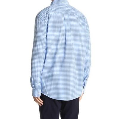 トミー ヒルフィガー メンズ シャツ トップス Twain Checkered Print Long Sleeve Shirt COLLECTION BLUE