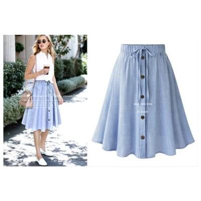 レディース 人気スカート ひざ丈 レディース/大きいサイズ S〜XLサイズ 新品未使用品 t-003