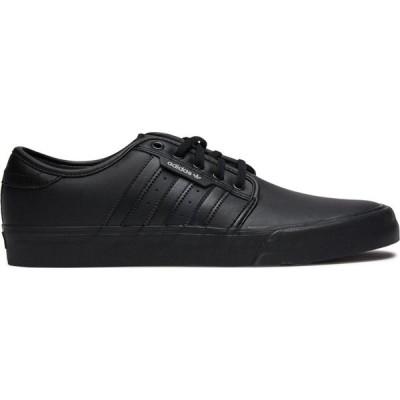 アディダス Adidas メンズ スニーカー シューズ・靴 seeley xt leather shoe Black black