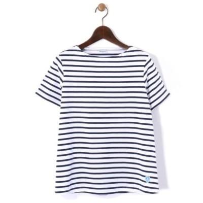 tシャツ Tシャツ 【ORCIVAL/オーシバル】40/2ボーダーTEE