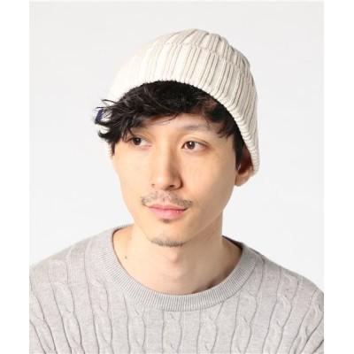 Clef OUTDOOR / 【クレ 】日本製 抗菌消臭加工コットン ワッチ MEN 帽子 > ニットキャップ/ビーニー