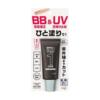 メンズビオレ ONE BB&UVクリーム 30g 納期10日程度 メール便5個まで