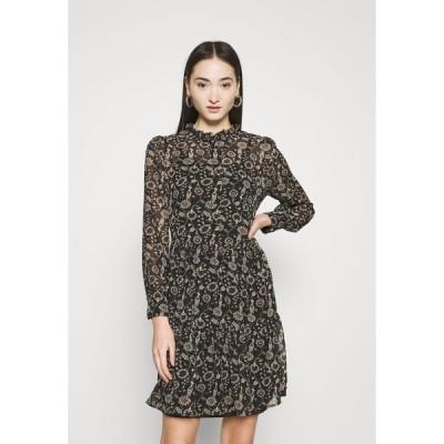 オンリー ワンピース レディース トップス ONLAMBRE SHORT DRESS  - Day dress - black