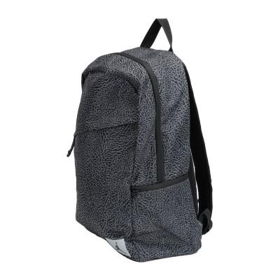 JORDAN バックパック&ヒップバッグ ブラック ポリエステル 100% バックパック&ヒップバッグ