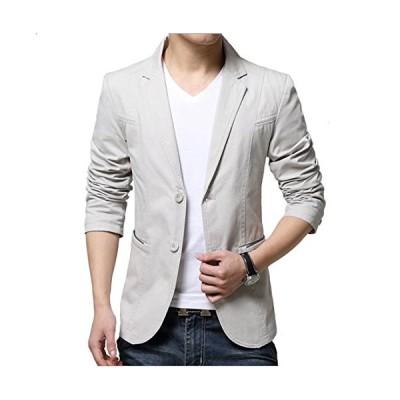 MANNY メンズ ジャケット 春 夏 ブレザー スーツ カジュアル ビジネス 無地 長袖 ファッションスーツ 通勤 通学