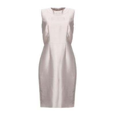 マックスマーラ MAX MARA ミニワンピース&ドレス ライトグレー 42 シルク 56% / コットン 44% ミニワンピース&ドレス
