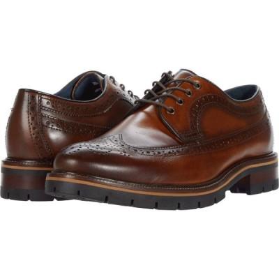 ジョンストン&マーフィー Johnston & Murphy メンズ シューズ・靴 Cody Longwing Tan Full Grain Leather