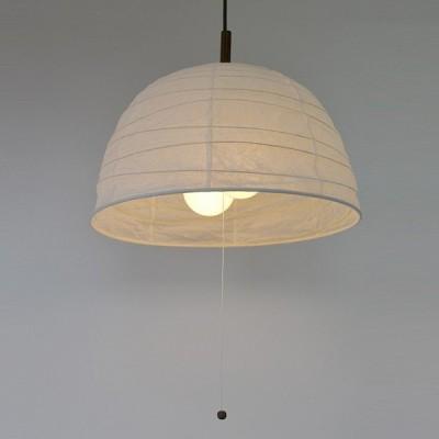 ペンダントライト 和紙 ペンダントランプ 揉み紙 2灯 ( 照明 和室 和風照明 )