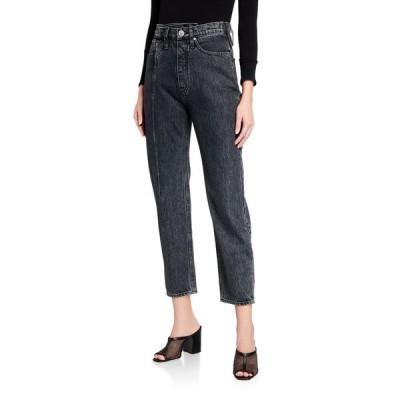 ハドソン レディース デニムパンツ ボトムス Elly Folded High-Rise Crop Jeans