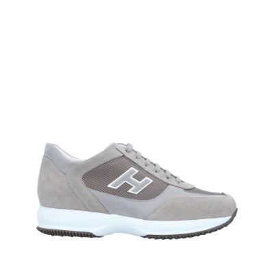 ホーガン HOGAN スニーカー&テニスシューズ(ローカット) グレー 11.5 革 スニーカー&テニスシューズ(ローカット)
