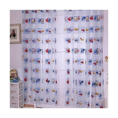 Norbi Cartoonsチュール部屋ウィンドウカーテン薄手ボイルパネルドレープカーテン