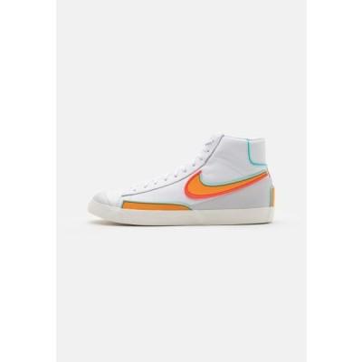 ナイキ メンズ 靴 シューズ BLAZER MID '77 INFINITE - High-top trainers - white/kumquat/aurora green/bright crimson/sail