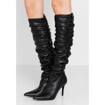 ベルサーチ ブーツ&レインブーツ レディース シューズ High heeled boots - nero