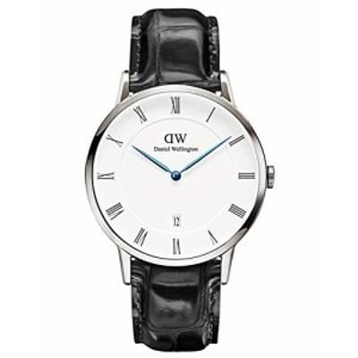 [ダニエルウェリントン]Daniel Wellington 腕時計 ダッパー レディン/シルバー 38mm 革ベルト DW00100108 メンズ [並行輸入品]