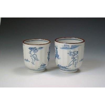 京焼 清水焼 湯呑 和食器 陶器 陶磁器 【高山寺】 こうざんじ 大・小でお選び頂けます。 1個での販売です。 新品