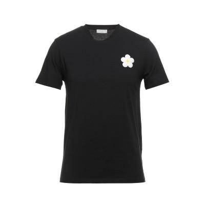 SANDRO T シャツ ブラック XS コットン 100% / ポリウレタン / ポリエステル / ウール / アクリル T シャツ