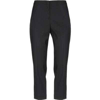 タラ ジャーモン TARA JARMON パンツ ブラック 40 レーヨン 52% / バージンウール 40% / ナイロン 6% / ポリウレタン