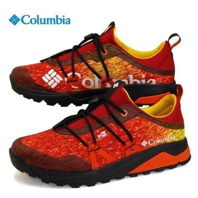 コロンビア Columbia ROCK'N TRAINER III LO OUTDRY YU0383 691 防水透湿 ロックントレイナー 3 ロー アウトドライ 赤 登山 メンズ
