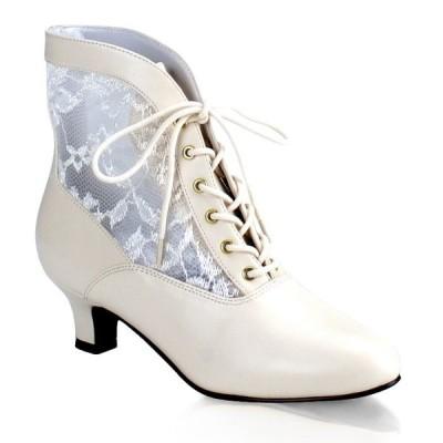 取寄せ靴 送料無料 PLEASER プリーザー ブーツ 5cmヒール 大きいサイズあり