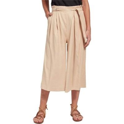 リセ Lysse レディース クロップド ワイドパンツ ボトムス・パンツ Kendra Wide Leg Crop Pants in Stretch Woven Linen Almond