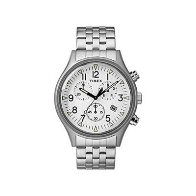Timex Men's MK1 Chronograph 42mm   Stainless Steel Bracelet  Watch TW2R6890【並行輸入品】