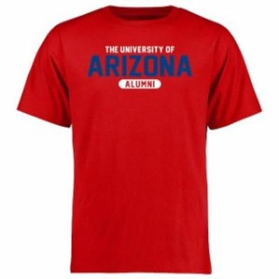 Fanatics Branded ファナティクス ブランド スポーツ用品  Arizona Wildcats Red Basic Alumni T-Shirt
