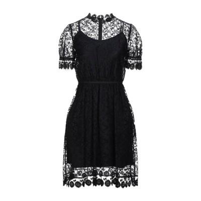 BURBERRY ミニワンピース&ドレス ブラック 36 ナイロン 43% / コットン 39% / ポリエステル 18% ミニワンピース&ドレス