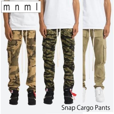 mnml ミニマル Snap Cargo Pants メンズ レディース 春夏秋冬 カーゴパンツ ボトム