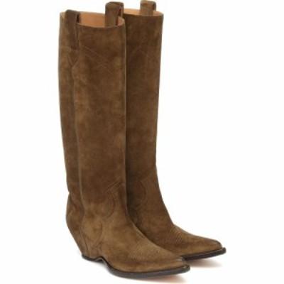 メゾン マルジェラ Maison Margiela レディース ブーツ カウボーイブーツ シューズ・靴 Suede Cowboy Boots