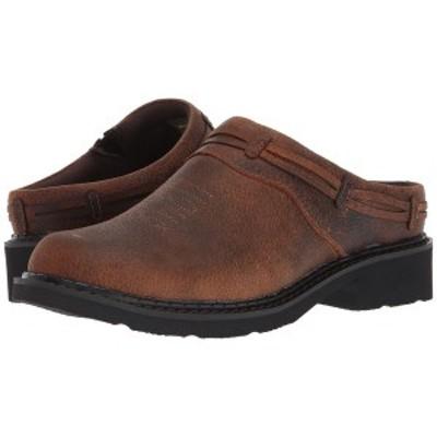 ローパー レディース サンダル シューズ Laces Brown Crazy Horse Leather