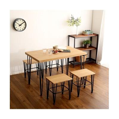 ヴィンテージ風ダイニングセット ダイニングテーブルセット, Tables(ニッセン、nissen)