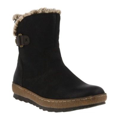 スプリングステップ レディース ブーツ&レインブーツ シューズ Milagra Ankle Boot Black Synthetic