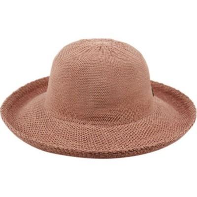 エポックハットカンパニー Epoch Hats Company レディース ハット Angela & William Wide Brim Sun Bucket Hat with Roll Up Edge